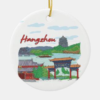 Hangzhou Christmas Ornament