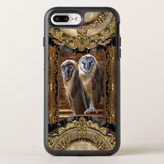 Hanivel Prey Cool Elegant Owl Pattern OtterBox Symmetry iPhone 7 Plus Case