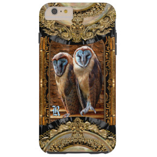 Hanivel Prey Owl  Monogram Plus Tough iPhone 6 Plus Case