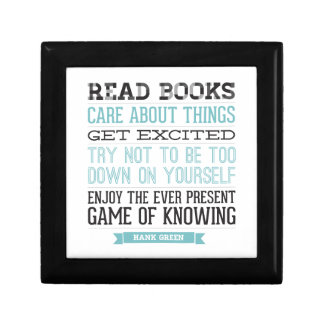 Hank Green Quote Gift Box