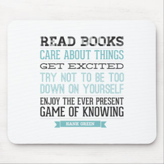 Hank Green Quote Mouse Mat