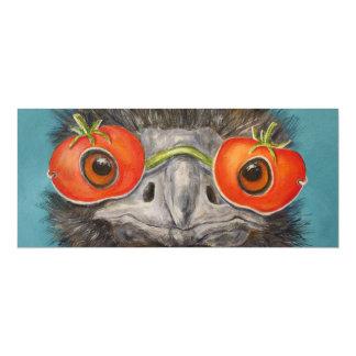 Hank the Emu flat card