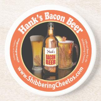 Hank's Bacon Beer Coaster