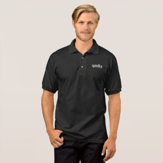 Hank's Logo Black Polo (Men's)