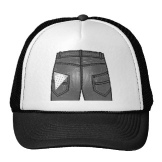 Hanky Code White Left Hats
