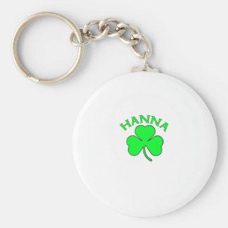 Hanna Basic Round Button Key Ring