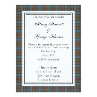 Hanna  Scottish Wedding Invitation