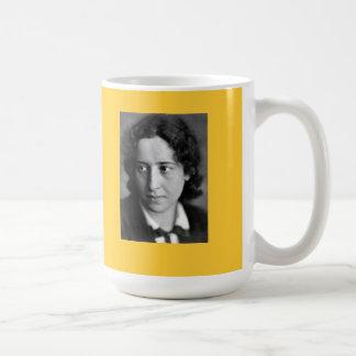 Hannah Arendt quote Basic White Mug