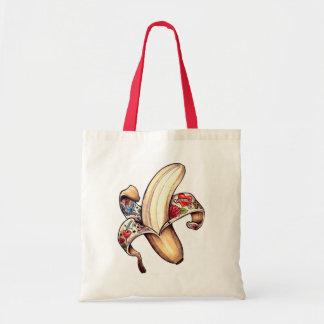 Hannah Banana reusable shopping bag! Budget Tote Bag