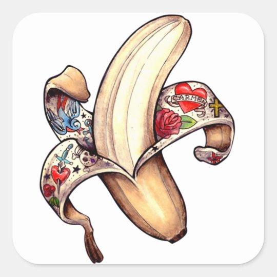 Hannah Banana Stickers! Square Sticker