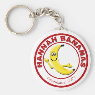 Hannah Bananas Key Ring