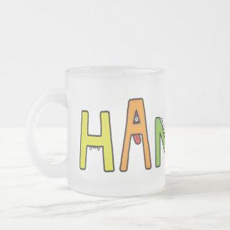 """""""Hannah"""" Monster Letters Mug"""