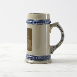 hannah wedding beer stein