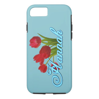 Hannah with Tulips Phone Case