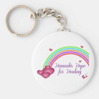 Hannah's Hope for Healing Keychain