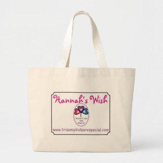 Hannah's Wish Jumbo Tote Bag