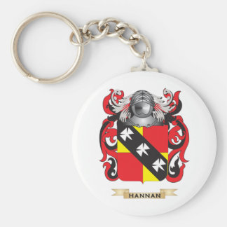 Hannan Coat of Arms Family Crest Keychains