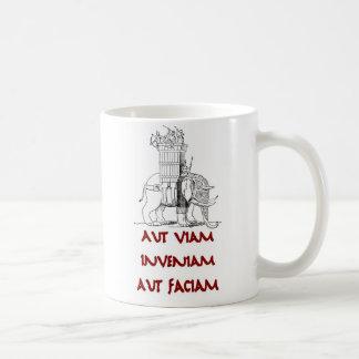 Hannibal Aut Viam Inveniam Aut Faciam Coffee Mugs