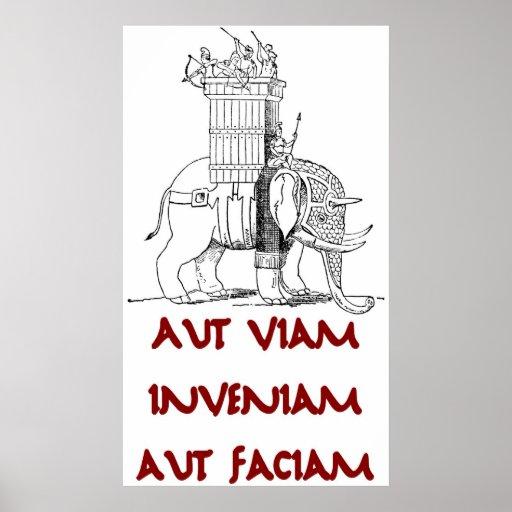 Hannibal Aut Viam Inveniam Aut Faciam Print