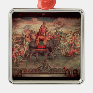Hannibal Crossing the Alps Christmas Ornament