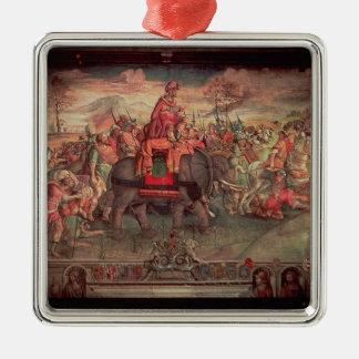 Hannibal Crossing the Alps Ornament