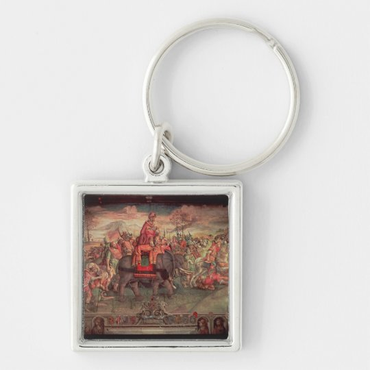 Hannibal Crossing the Alps Key Ring