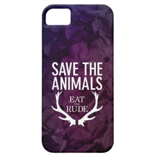 Hannibal Eat the Rude / Save the Animals Phone Cas iPhone 5 Cover