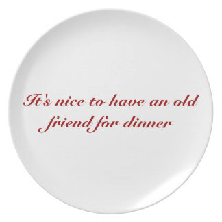 Hannibal Quote Plate