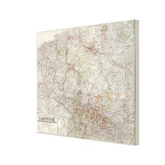 Hannover, Braunschweig, Oldenburg Stretched Canvas Prints