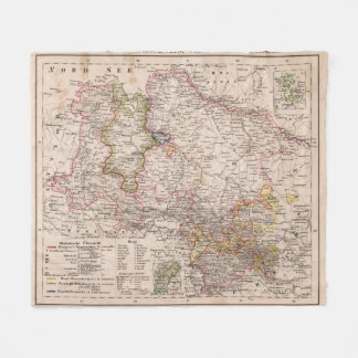 Hannover, Germany Fleece Blanket