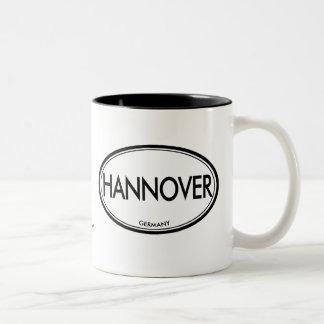 Hannover, Germany Two-Tone Mug