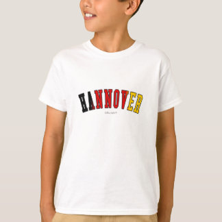 Hannover in Germany national flag colors Shirt