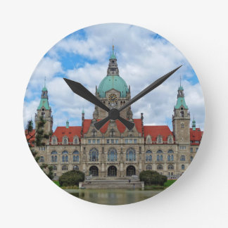 Hannover, New Town Hall, Germany Clock