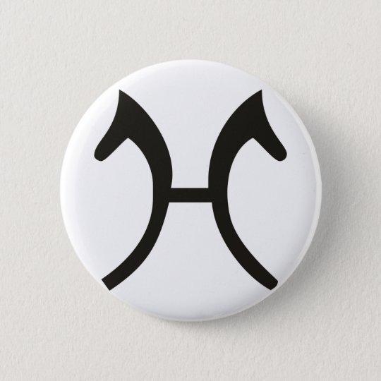 Hannoveraner 6 Cm Round Badge