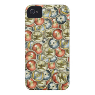 Hannukah BlackBerry Bold Barely There™ Case Mate iPhone 4 Cover