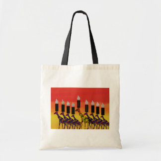 Hannukah Lights Tote Bag