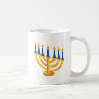 Hannukah Menorah Coffee Mugs