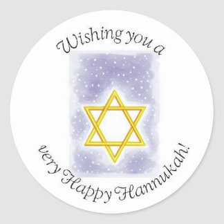 hannukah stickers