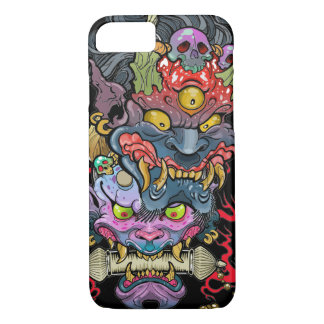 Hannya and Oni Mask iPhone 7 Case