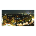 Hanoi At Night Personalized Photo Card