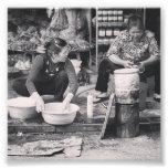 Hanoi Markets Photographic Print