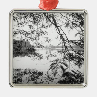 Hanoi Vietnam, Hoan Kiem Lake View Christmas Ornament