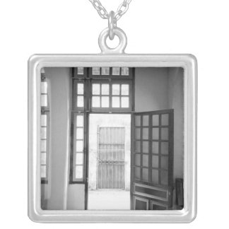Hanoi Vietnam, Inside Hanoi Hilton Prison Silver Plated Necklace