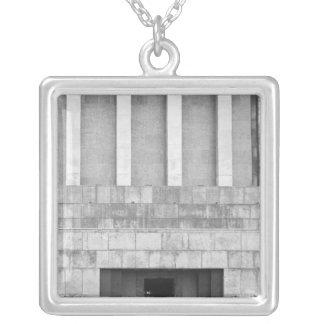Hanoi Vietnam, Mausoleum of Ho Chi Minh Silver Plated Necklace