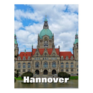 Hanover, Hannover 02, New Town Hall, Germany Postcard
