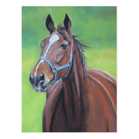 Hanover Horse Art Postcard