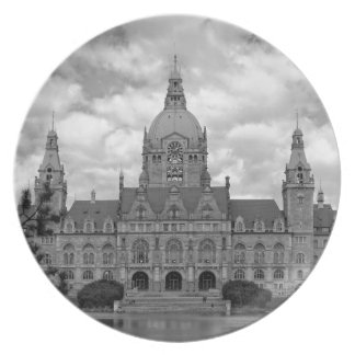 Hanover, New Town Hall, 001.F.04s (Hannover) Party Plate