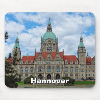 Hanover, New Town Hall 02, Germany (Hannover) Mouse Mat
