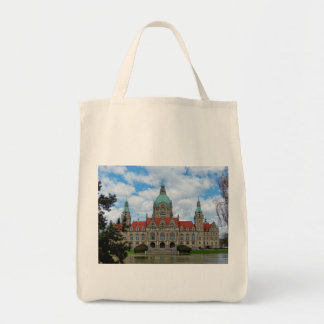 Hanover, New Town Hall, Germany (Hannover) Tote Bag
