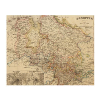 Hanover Region of Germany Wood Canvases